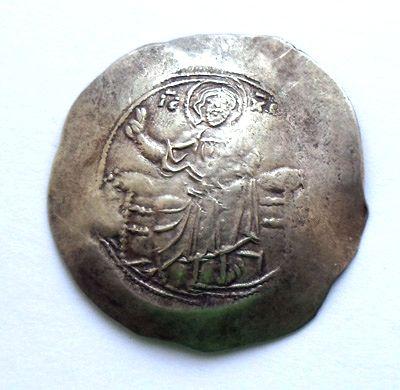 Аспрон трахи Иоанна 2 1118-1143 гг. (аверс)