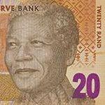20 рандов ЮАР (фрагмент)